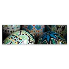 Pysanky Group, Blues Bumper Sticker