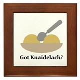 Got Knaidelach? Framed Tile