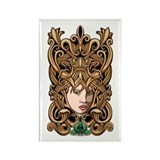 Celtic Goddess Rectangle Magnet (10 pack)
