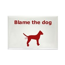 Cute Blame Rectangle Magnet