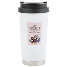 Book Club Ceramic Travel Mug