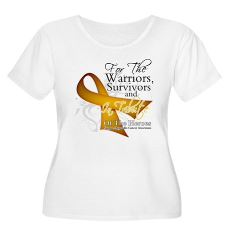 In Tribute Appendix Cancer Women's Plus Size Scoop