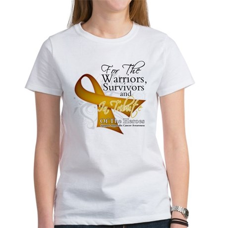 In Tribute Appendix Cancer Women's T-Shirt