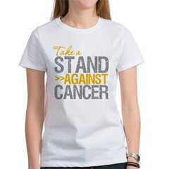 Take a Stand Appendix Cancer Women's T-Shirt