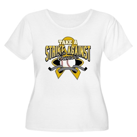 Take Strike Appendix Cancer Women's Plus Size Scoo