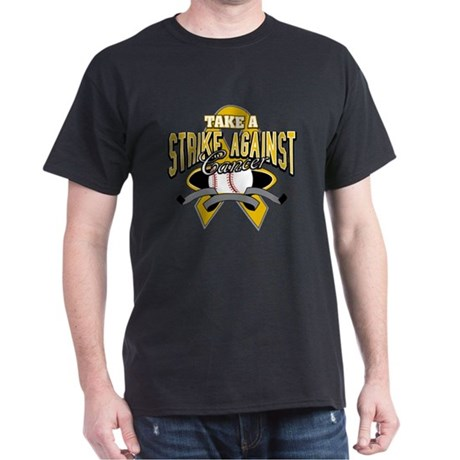 Take Strike Appendix Cancer Dark T-Shirt