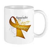Awareness Appendix Cancer Small Mug