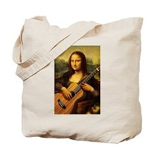 Mona Guitar Tote Bag