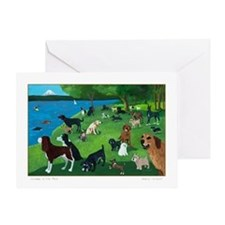 Funny Dogs Greeting Card