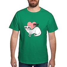 Love My Silver Ferret T-Shirt