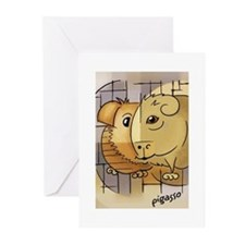 Pigasso Greeting Cards (Pk of 10)