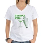 Shamrock Shake Women's V-Neck T-Shirt
