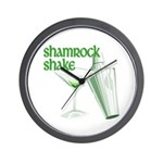 Shamrock Shake Wall Clock
