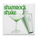 Shamrock Shake Tile Coaster