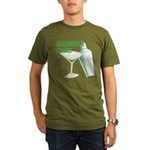 Shamrock Shake Organic Men's T-Shirt (dark)