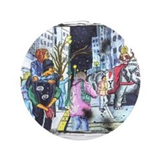 """Parade of the Elephants 3.5"""" Button (100 pack)"""
