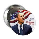 Maine for Obama 2012 campaign button