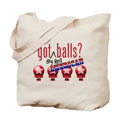 National Balls (USA) Tote Bag