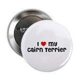 I * my Cairn Terrier Button