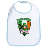 Irish leprechaun rugby Bib