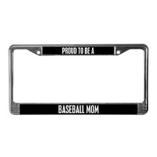 Baseball Mom License Plate Frame