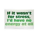 Stress and Energy Rectangle Magnet (100 pack)