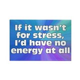 Stress and Energy Rectangle Magnet