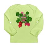My First St. Patrick's Day Cute Long Sleeve Infant