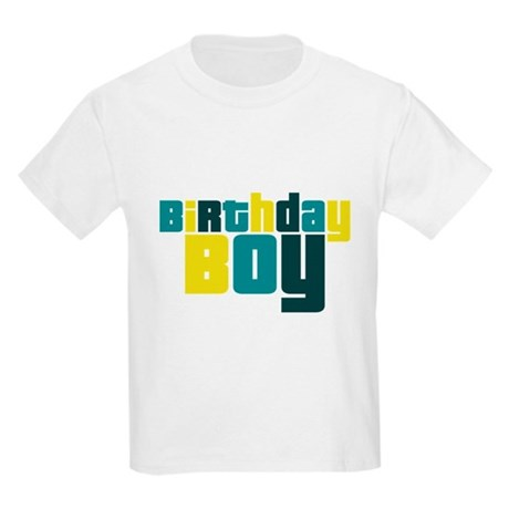 Birthday Boy Kids Light T-Shirt