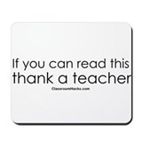 Thank a Teacher Mousepad