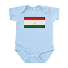 Tajikistan Flag Infant Bodysuit