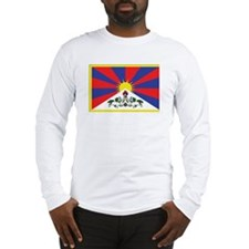 Tibet Flag Long Sleeve T-Shirt