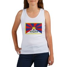 Tibet Flag Women's Tank Top