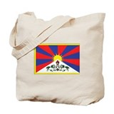 Tibet Flag Tote Bag