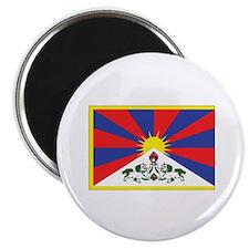 """Tibet Flag 2.25"""" Magnet (10 pack)"""