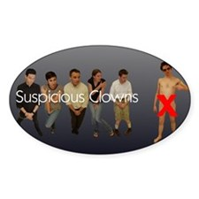 Suspicious Clowns X Decal