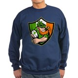Irish leprechaun rugby Jumper Sweater