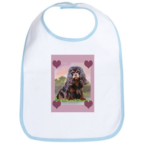 Black and Tan Cavalier Bib