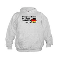 Irish German Boy Hoodie