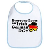 Irish German Boy Bib