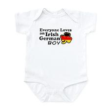 Irish German Boy Infant Bodysuit