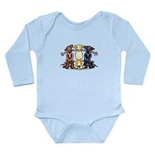 Lab Rope Long Sleeve Infant Bodysuit