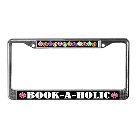 Book A Holic License Frame