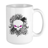 Hairdresser Pirate Skull Mug