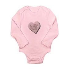 Sweet Hearts Long Sleeve Infant Bodysuit