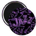 Jazz Electric Bass Purple Magnet