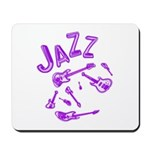 Jazz Electric Bass Purple Mousepad