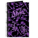 Jazz Electric Bass Purple Journal