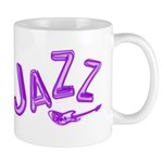 Jazz Electric Bass Purple Mug