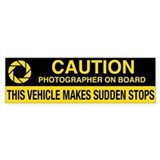 WA Photographer's Bumper Bumper Sticker